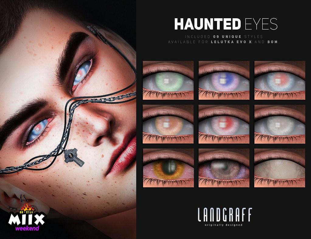 Haunted Eyes @ Miix Weekend