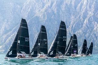 Melges World League Garda Lake Rally • Fraglia Vela Malcesine • Angela Trawoeger_K3I3528