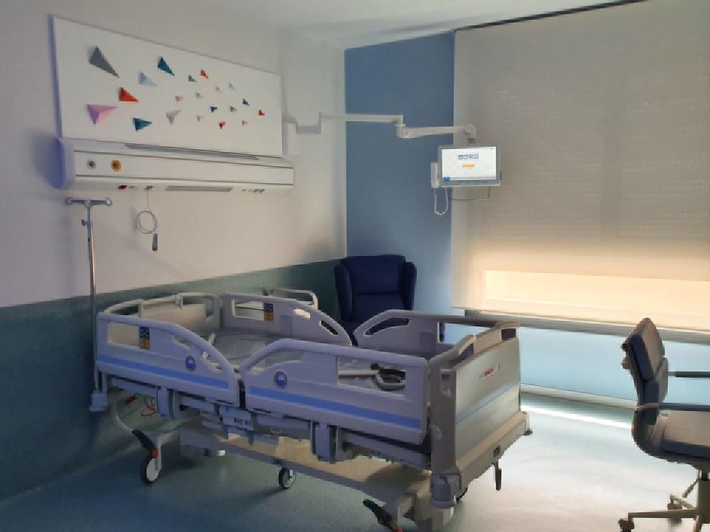 Nuevo hospital de Salamanca. Instalaciones, quirófanos, habitaciones, laboratorio.  (23)