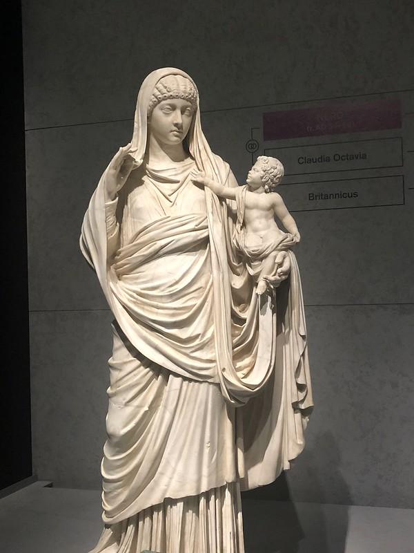 Statue of Valeria Messalina and Britannicus
