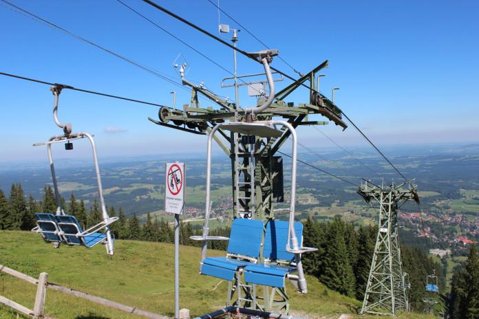 Unikátní lanovky v Bavorsku (1. část)