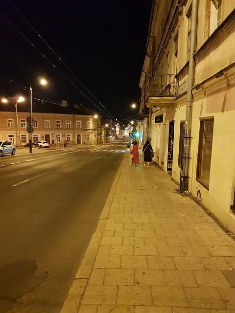 Lublin by night Lublin, Poland july 2021