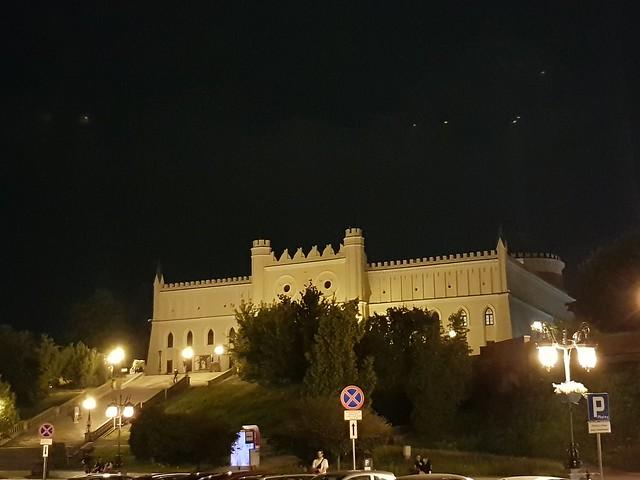 Lublin castle, Lublin, Poland july 2021