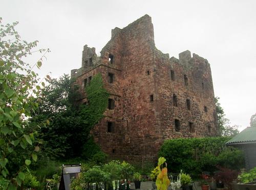 Redhouse Castle , Lothians, Scotland