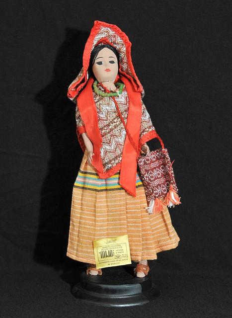 Mexico Muneca Doll Otomi Vintage Mijo Toliman