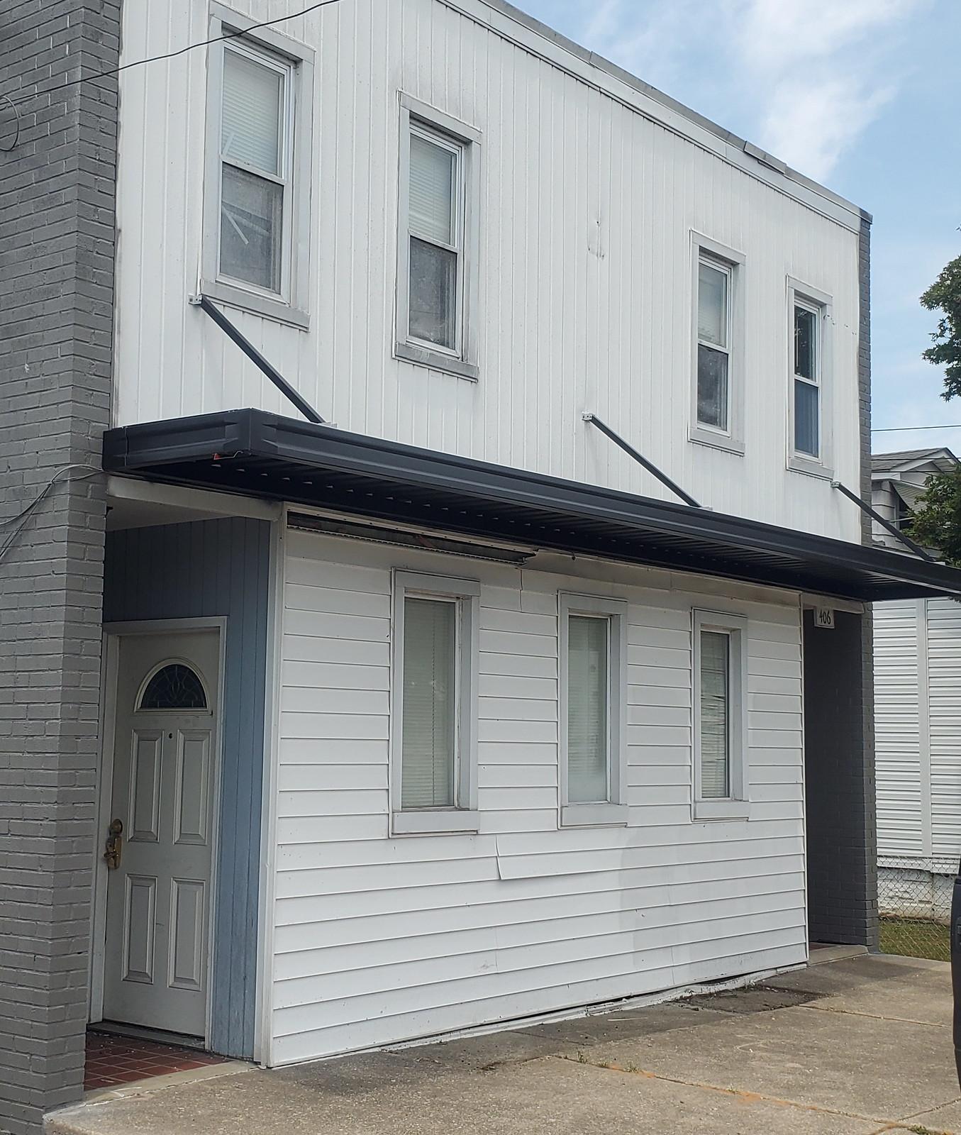 Flat Metal Awning for Building- Hoffman Awning Baltimore and DC
