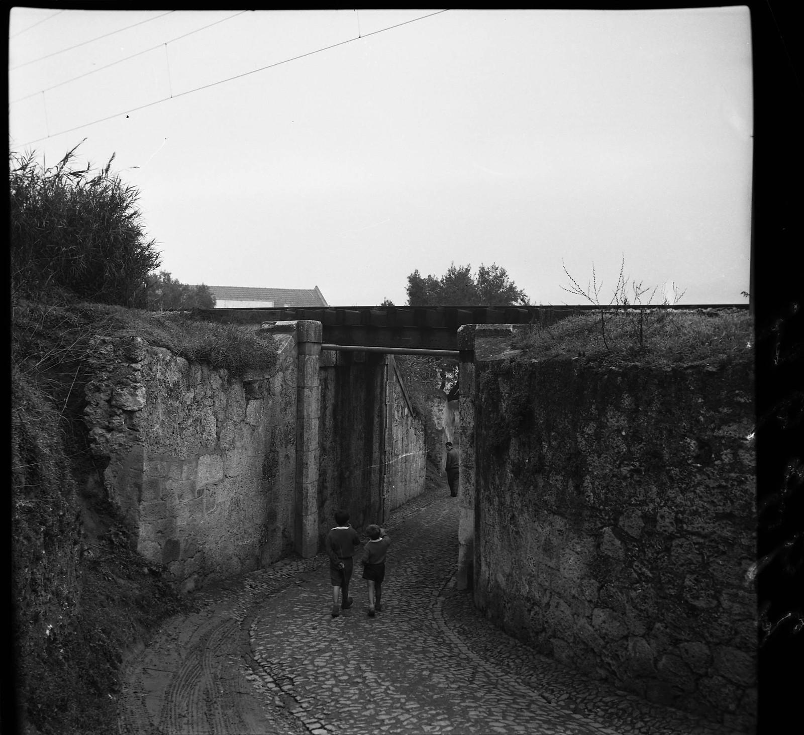 Viaduto Ferroviário, Lisboa (A.Goulart, 1961)