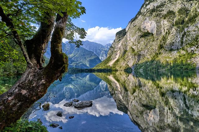 Alpine Panorama - Lake Obersee, Bavaria (explored)