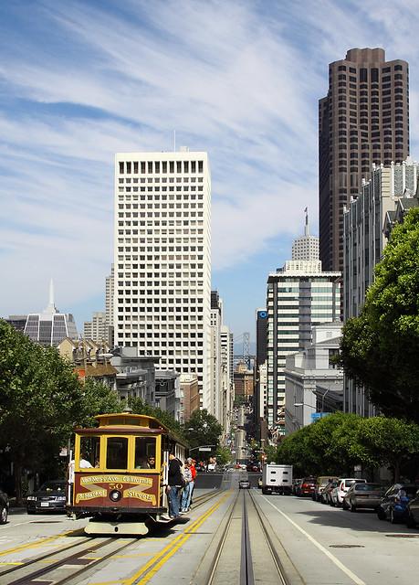 Cable Car 50, San Francisco CA, 25 July 2012