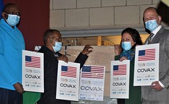 The United States Delivers COVID-19 Vaccine Doses to Lesotho