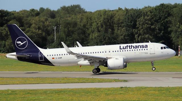 Lufthansa, D-AINM, MSN 8456,Airbus A320-271N, 17.07.2021, HAM-EDDH, Hamburg
