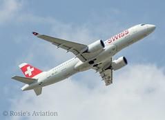 HB-JCJ - Swiss - Bombardier CSeries CS300/Airbus A220