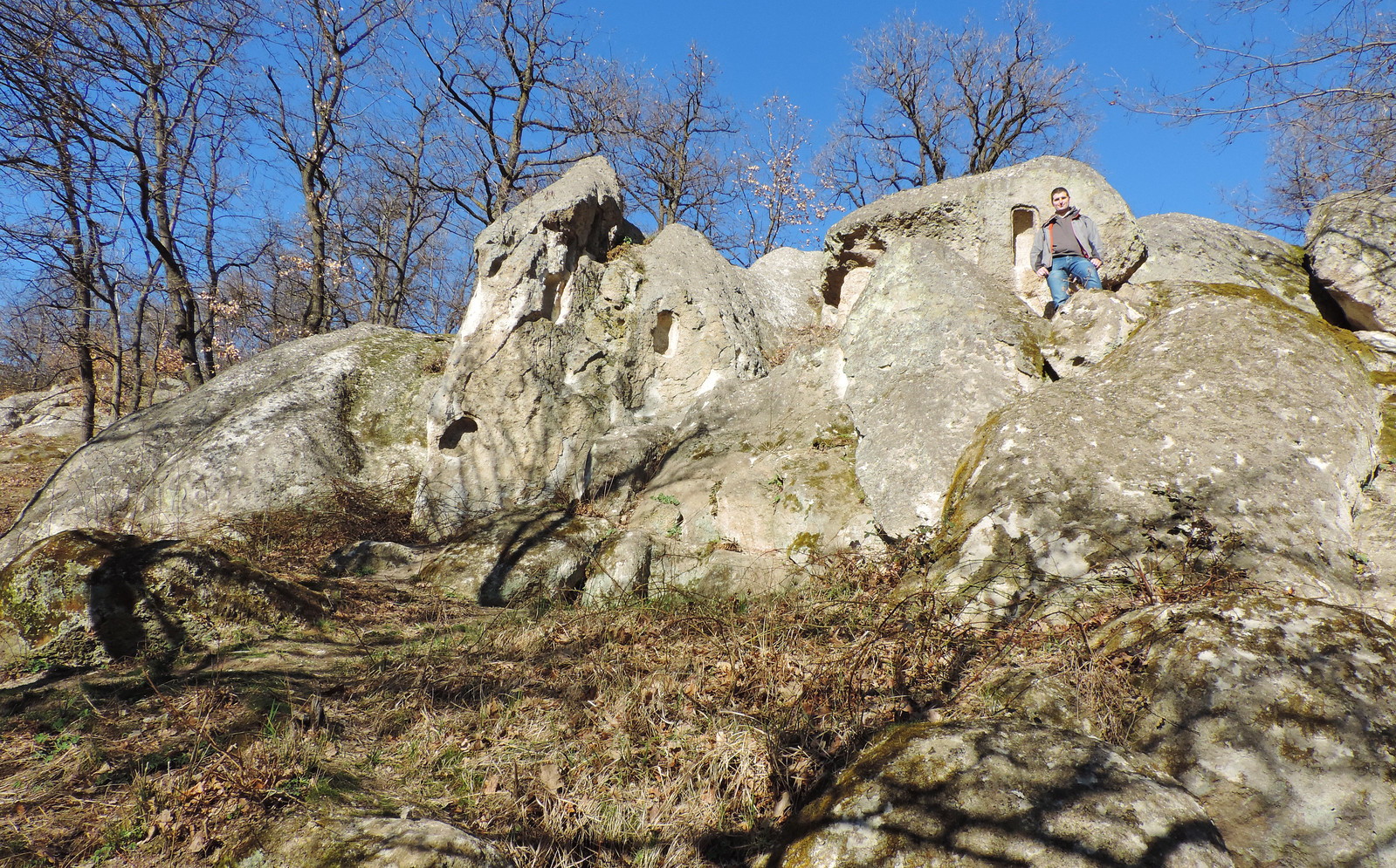Rock formations of Szomolya, Bükk National Park, Hungary
