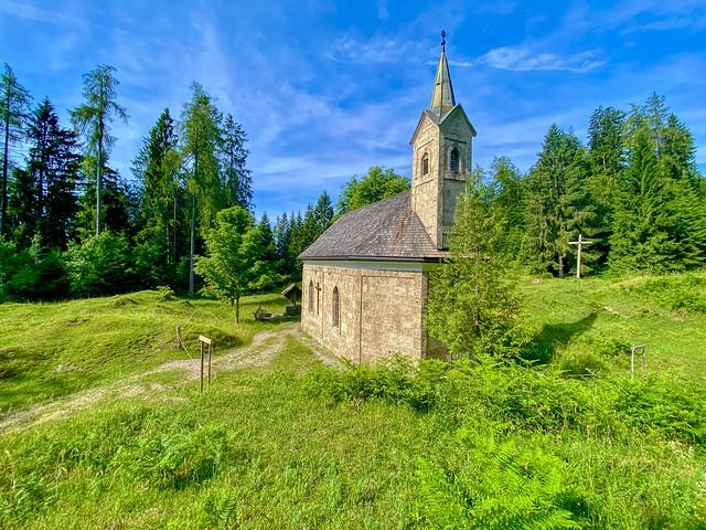 Chapel on Nußlberg mountain near Kiefersfelden in Bavaria, Germany