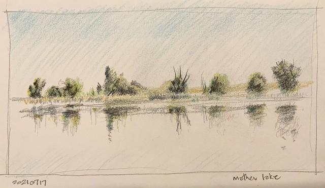 Mather Lake - North shore