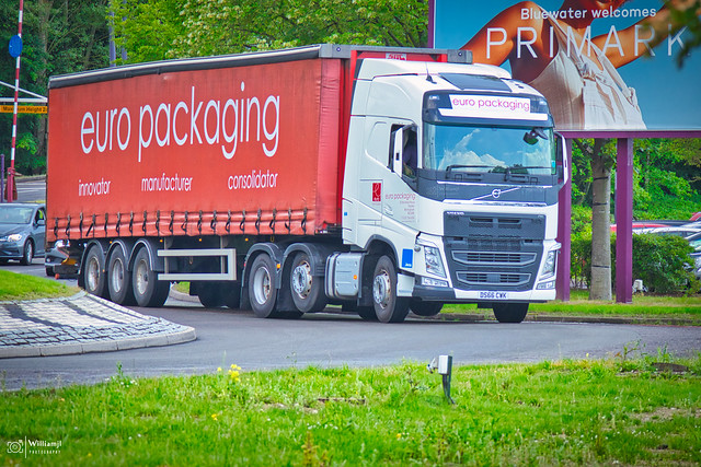 DS66 CWK - Volvo FH - euro packaging