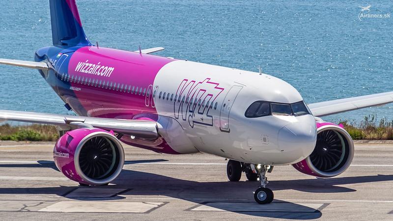 HA-LJC Wizz Air Airbus A320-271N