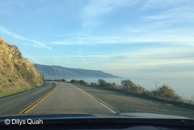 HWY 1 SUNNY CALIFORNIA COAST (4X6) ROAD TRIP TO BIG SUR