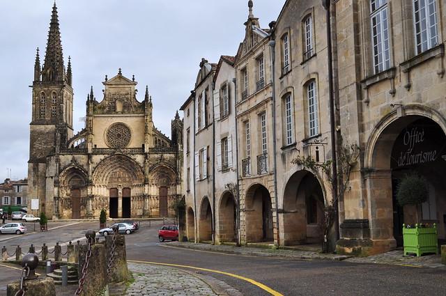 Cathédrale gothique St Jean-Baptiste, XIIIe-XIVe siècles, Bazas, Bazadais, Gironde, Nouvelle-Aquitaine, France.