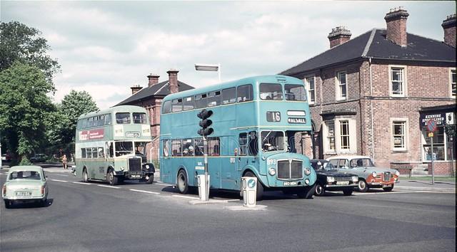 Birmingham Road, Lichfield, 1971