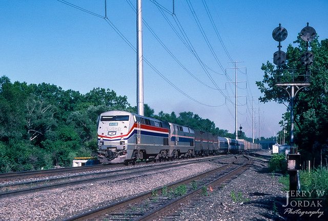 Afternoon Amtrak at White