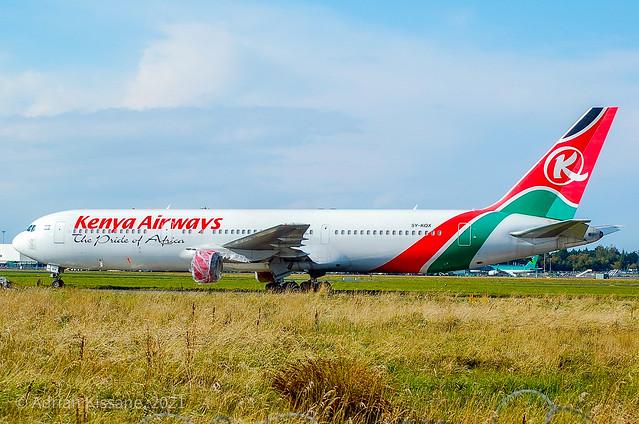 KENYA AIRWAYS B767 5Y-KQX