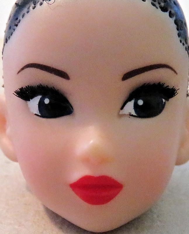 Audrey's new eyelashes