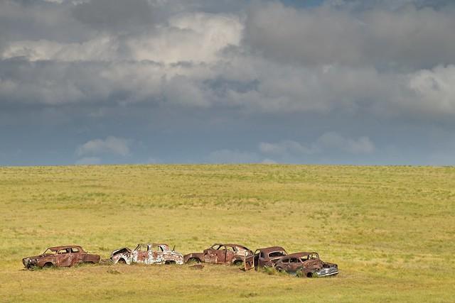 Junked Cars Prairie 671 A