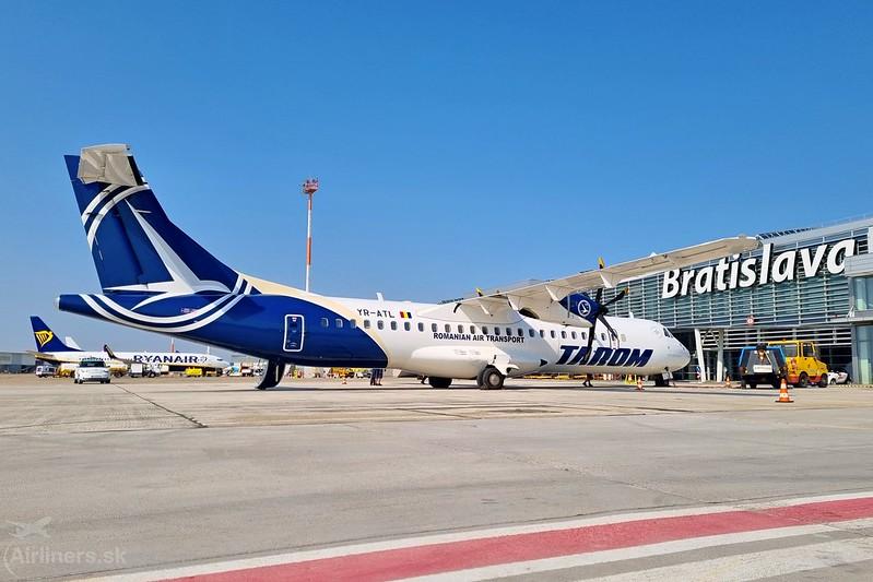 YR-ATL Tarom ATR 72-600 (72-212A)