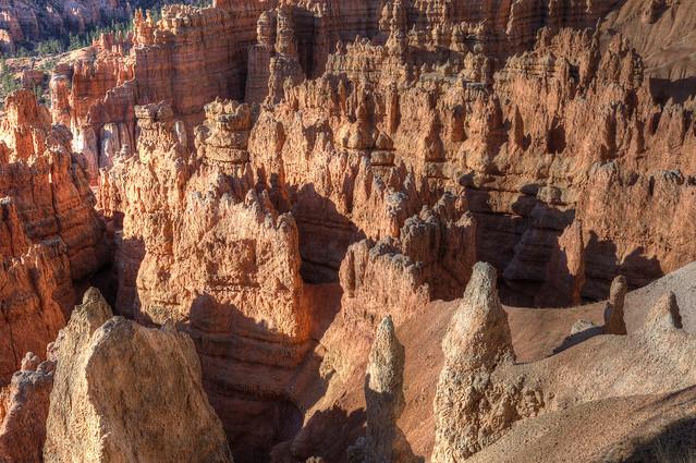 Hoodoos, Bryce Canyon, Utah.