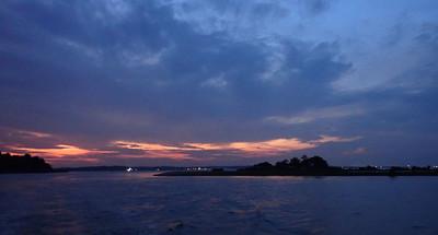 Sunrise over Pulau Sekudu