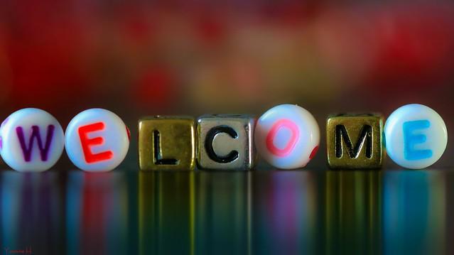 9971 - #Welcome #FlickrFriday