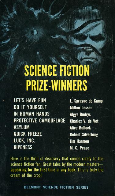 Belmont Books L92-557 - Ivan Howard - Rare Science Fiction (back)