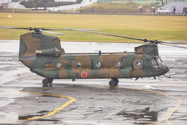 52934, Boeing CH-47J Japan Ground Self Defence Forces @ Akeno RJOE