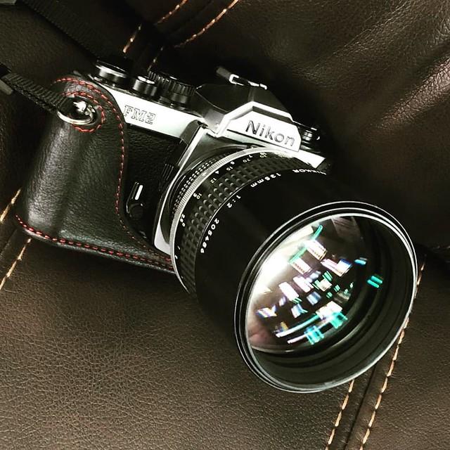 Nikon Ais 135mm f2 千夜一夜的ERNOSTAR