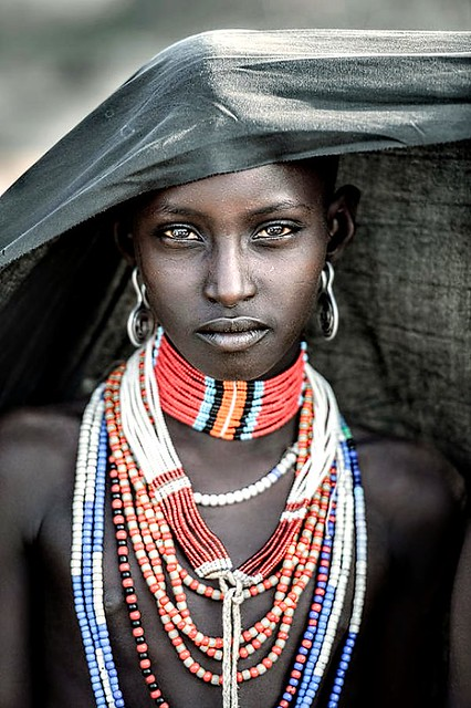 Arbore tribes girl by Trevor Cole (Ireland)