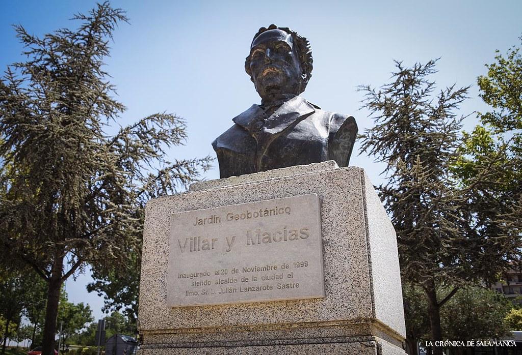 Villar y Macias, parque, colegio, calle y río Tormes.  (42)