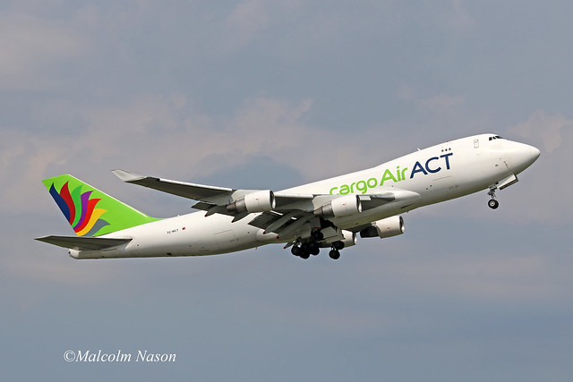 B747-412F TC-MCT AIR ACT CARGO