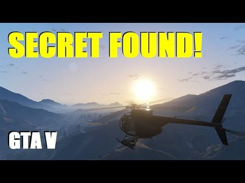 Unexplained Secret Found and New UFO Perspective!!! (GTA 5 Mystery / Easter Eggs)