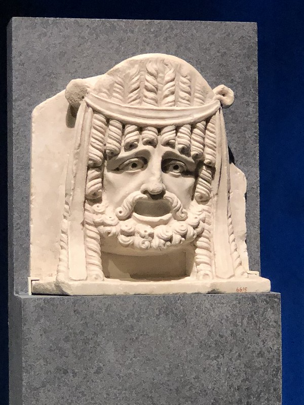 Relief of Theatre Mask