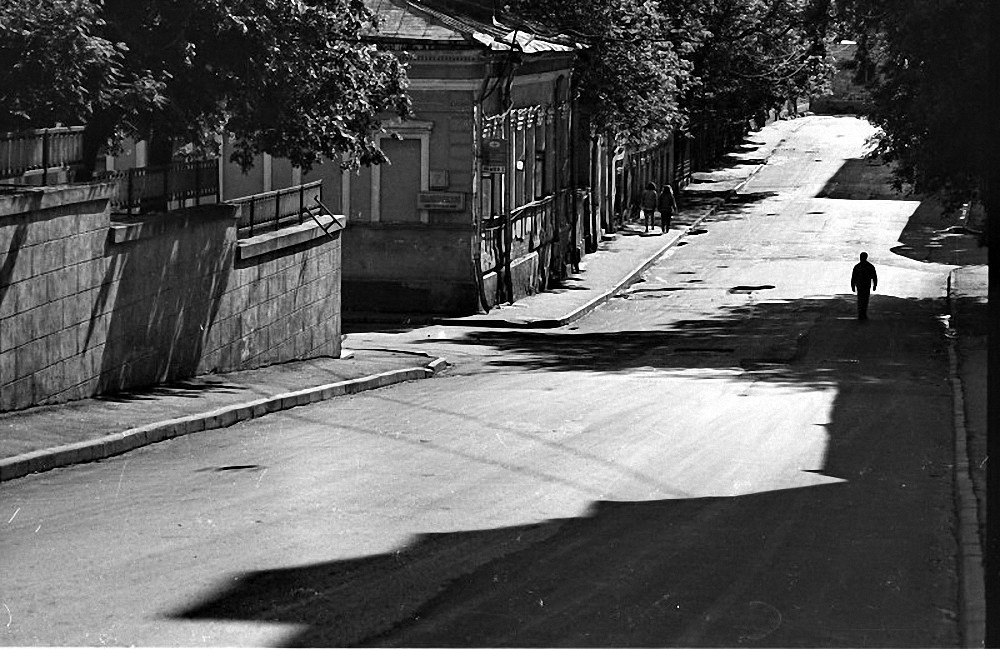 1980-е. Московские старости. Хохловский переулок