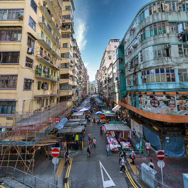 Afternoon in Mong Kok