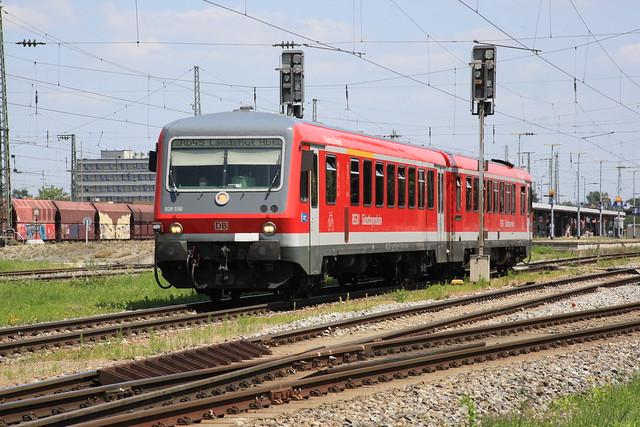 628 556 / 928 556, Landshut Hbf, 21. Juli 2021