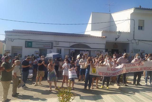Manifestación Urgencias El Ronquillo