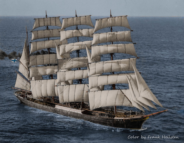 Four-masted barque Pamir (late 40s)