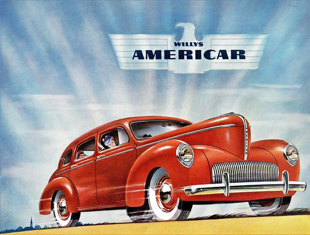 1941 Willys Americar Brochure Cover