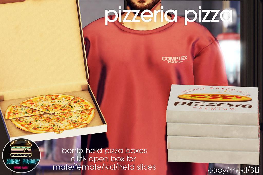 Junk Food – Pizzeria Pizza Ad