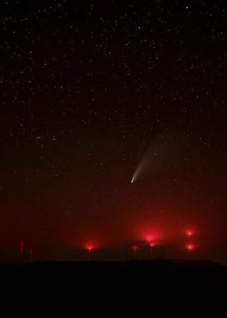 Red and Neowise Comet