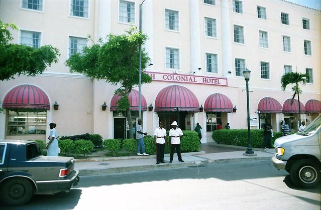 Nassau - The British Colonial Hotel - May 1996