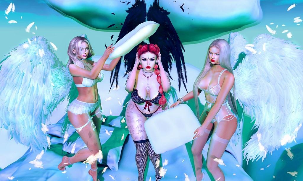 Angels' mischief